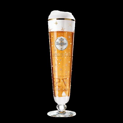 Warsteiner Tulpglas kersteditie 0,25l (set van 6)